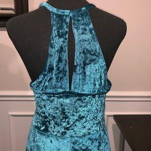 Angie Dresses - ⭐️NEW⭐️ Blue Velvet Dress